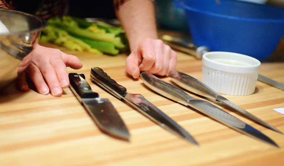 Knife Skills Knives