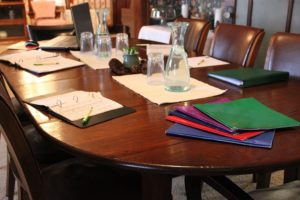 Business Meeting Room Table
