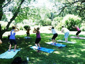 Yoga Behind the Pines @ Whispering Pines B&B