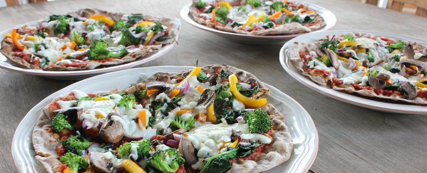 Four Vegetable Pizza