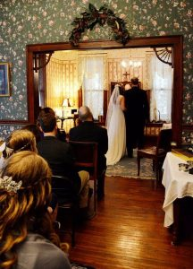 Boutique Wedding in the Parlor