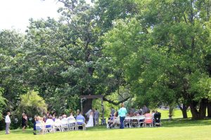 Wedding Ceremony 80 Guests East Burr Oak Tree