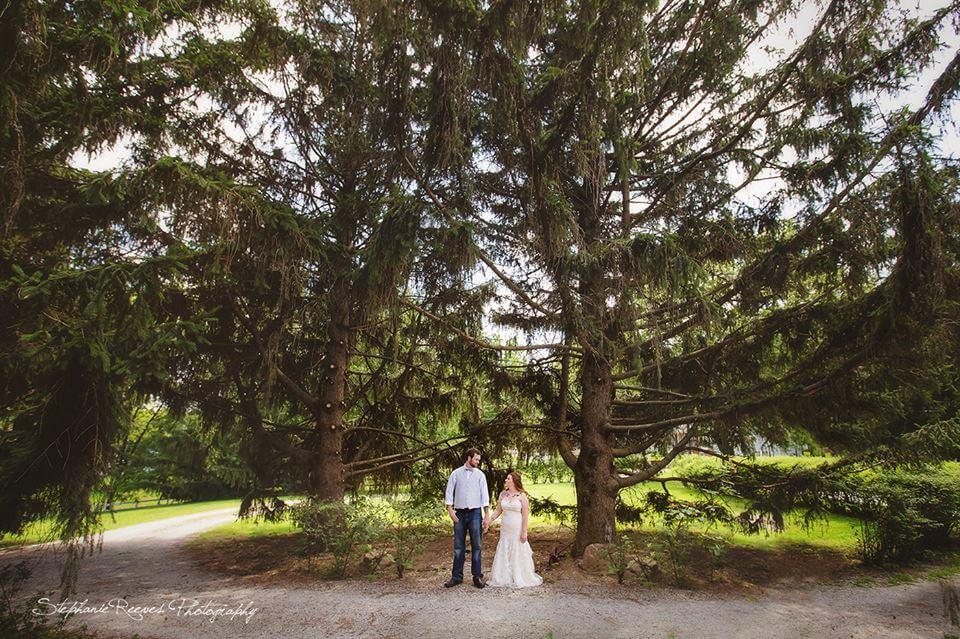 Wedding Under The Pines
