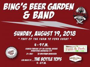 Bing's Beer Garden poster