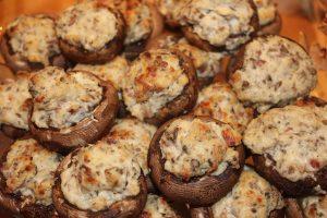 cheesy mushrooms