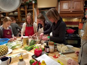 Thai Night Cooking Class