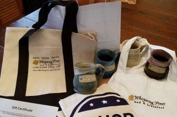 Shop Small Ideas, tote bag, apron, mug or gift certificate