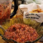 Cranberry Salsa and Pita Chips